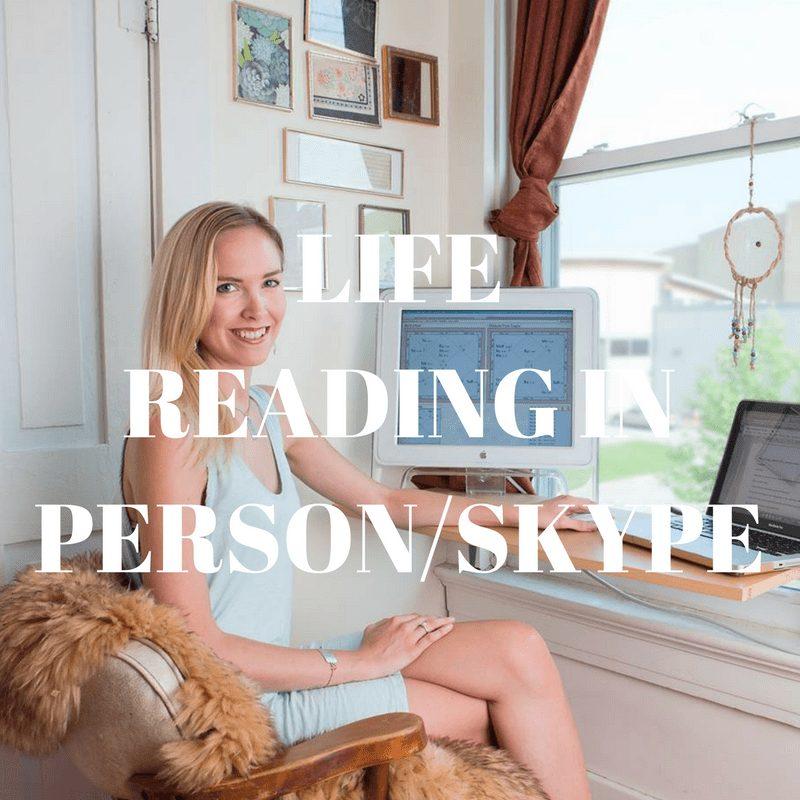 Life Reading via Skype