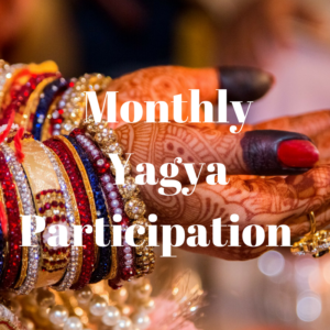 Monthly Yagya Participation