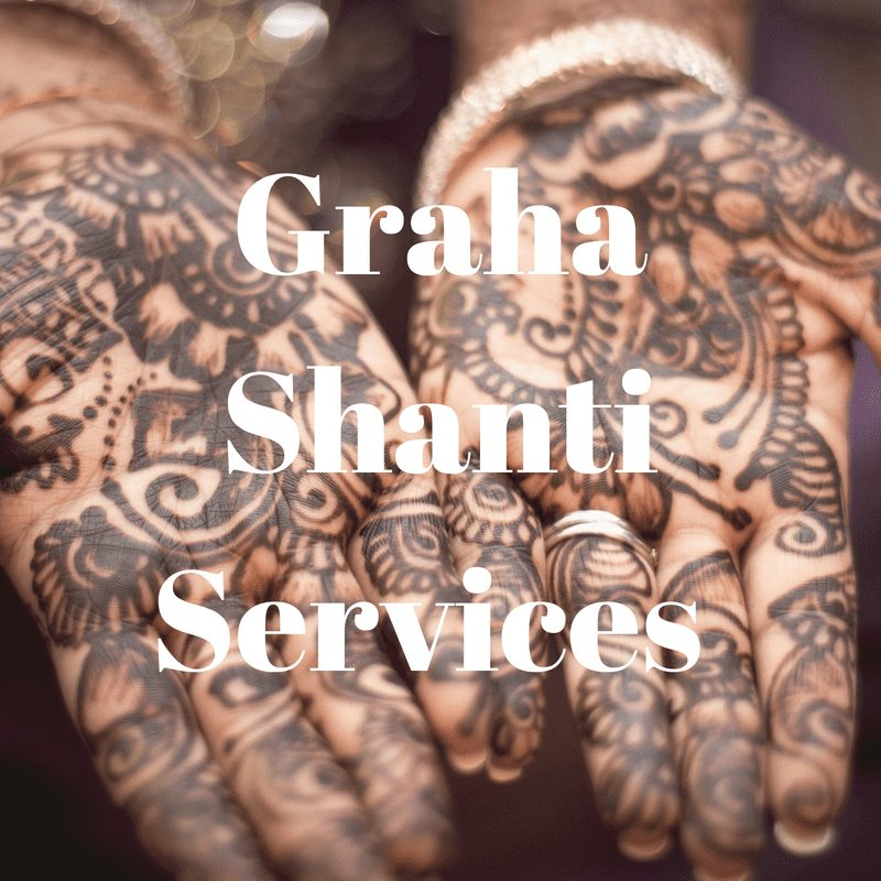 Graha Shanti-Services (Peace-Making Planetary Remedies)